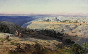 Edward_Lear_-_Jerusalem_from_the_Mount_of_Olives,_Sunrise